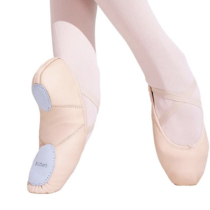 Capezio Adult Juliet Split Sole Leather Ballet Shoe (2027A)