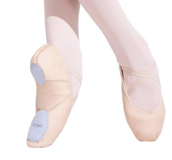 Capezio Adult Juliet Split Sole Leather Ballet Shoe (2027A)
