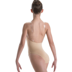 Motion Wear Adult V-Neck Nude Leo Convertible - 2487