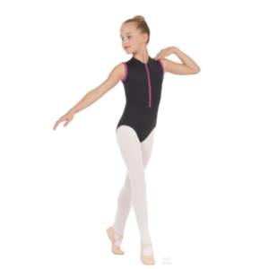 eurotard child's zipper leotard